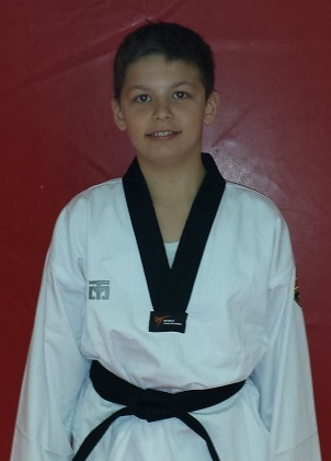 Mister Christian Ferraro, 1st Poom Junior Black Belt